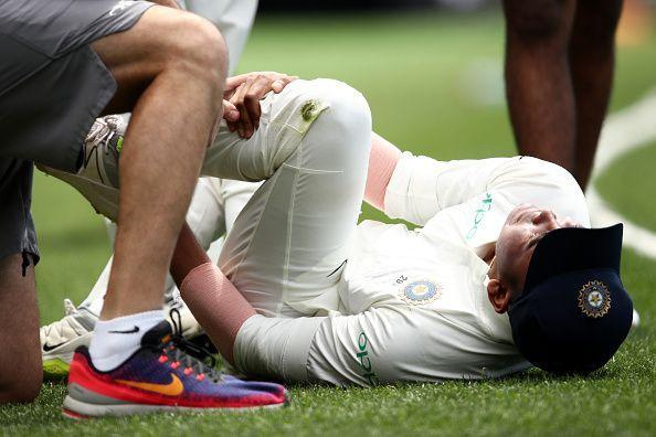 Shaw injured his ankle in the CXI v India game