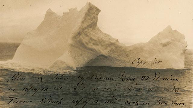 Photo of Titanic Iceberg Up for Sale