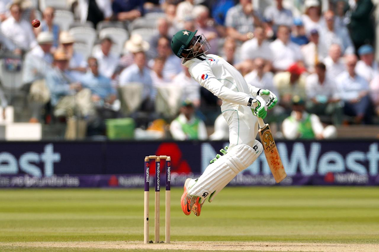 Cricket - England vs Pakistan - First Test - Lord's Cricket Ground, London, Britain - May 27, 2018      Pakistan's Imam ul-Haq in action    Action Images via Reuters/John Sibley     TPX IMAGES OF THE DAY