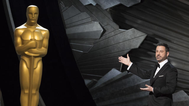 Jimmy Kimmel Takes On Bad Men In Hollywood (And Elsewhere) In Oscar Opener