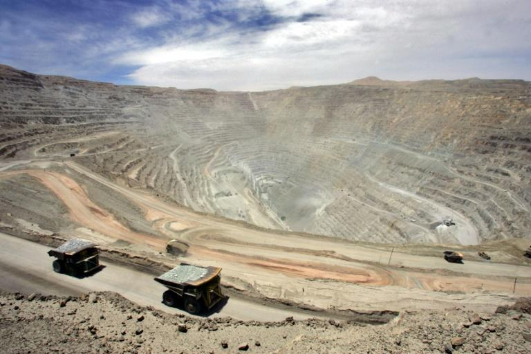 The Chuquicamata site in the Atacama desert of northern Chile is considered to hold the largest open pit copper deposit in the world, measuring five by three kilometers and one kilometer deep