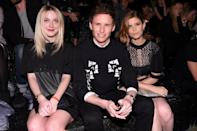 <p>(Left to Right) Dakota Fanning, Eddie Redmayne, Kate Mara</p>
