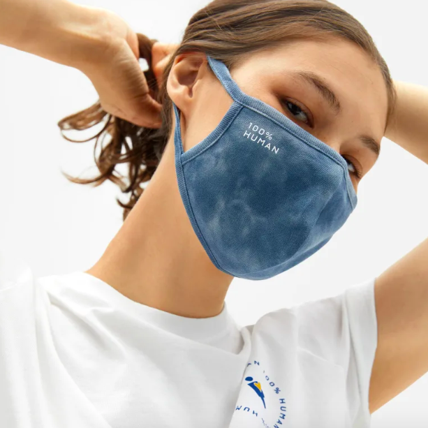 Everlane's 100% Human face masks now come in tie-dye