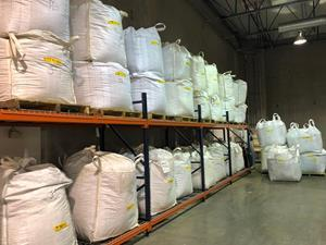 September 2020 shipment of Beyond Tobacco™ base material in the Company's Las Vegas, NV processing facility. Approximately 3.2 tons of usable base material is expected to be derived from this shipment, which should allow for production of at least 15,000 ten-pack cartons of Beyond Tobacco™.