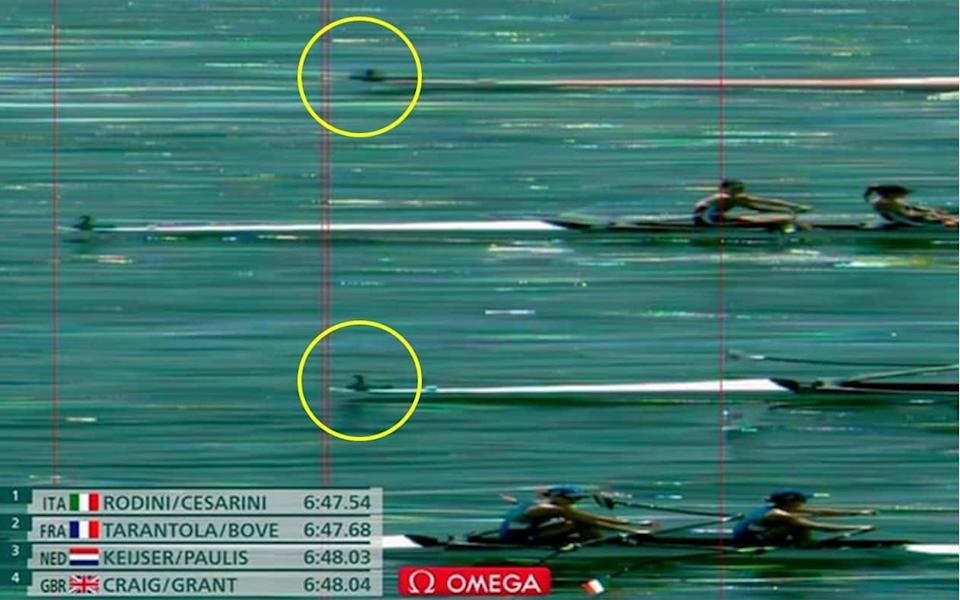 Imogen Grant and Emily Craig were just 00.01 seconds off a bronze medal in a hugely dramatic lightweight women's double scull final. - BBC