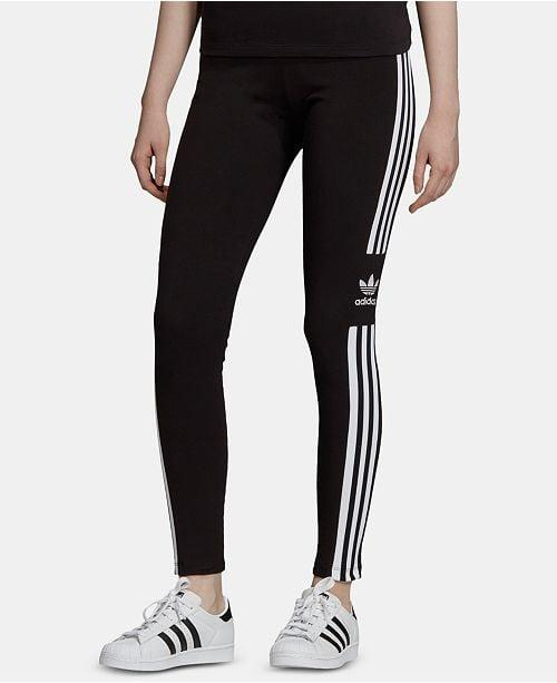 """<p>These classic <a href=""""https://www.popsugar.com/buy/Adidas-Adicolor-Three-Stripe-Leggings-491427?p_name=Adidas%20Adicolor%20Three-Stripe%20Leggings&retailer=macys.com&pid=491427&price=40&evar1=fit%3Aus&evar9=46635785&evar98=https%3A%2F%2Fwww.popsugar.com%2Ffitness%2Fphoto-gallery%2F46635785%2Fimage%2F46635849%2FAdidas-Adicolor-Three-Stripe-Leggings&list1=shopping%2Cworkout%20clothes%2Cleggings%2Cmacys&prop13=mobile&pdata=1"""" rel=""""nofollow"""" data-shoppable-link=""""1"""" target=""""_blank"""" class=""""ga-track"""" data-ga-category=""""Related"""" data-ga-label=""""https://www.macys.com/shop/product/adidas-originals-adicolor-three-stripe-leggings?ID=6642653&amp;CategoryID=29891#fn=sp%3D1%26spc%3D3226%26ruleId%3D109%7CBOOST%20SAVED%20SET%7CBOOST%20ATTRIBUTE%26searchPass%3DmatchNone%26slotId%3D16"""" data-ga-action=""""In-Line Links"""">Adidas Adicolor Three-Stripe Leggings</a> ($40) can be worn to yoga or on a hike.</p>"""
