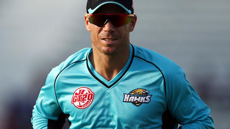 David Warner bowled by Lasith Malinga for one on return to cricket