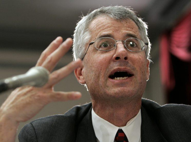 Philip Mudd, then-associate executive assistant director of the National Security Branch of the FBI answers a question while testifying on Capitol Hill in Washington, Thursday, Jan. 18, 2007 before the House Intelligence Committee's annual Threat Assessment hearing. (Photo: Susan Walsh/AP)