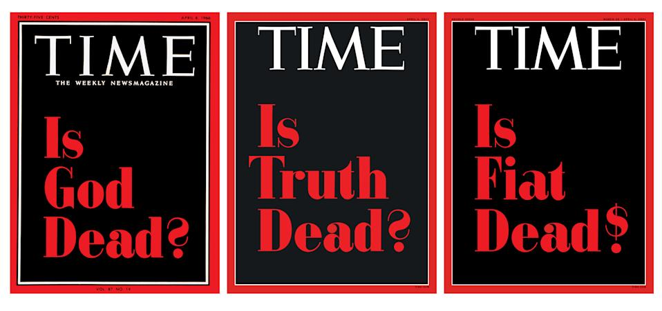 TIME will be auctioning all three of these covers as a limited edition series of 1 of 1 on SuperRare.