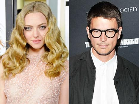 "Amanda Seyfried, Josh Hartnett ""Cooling Down"""