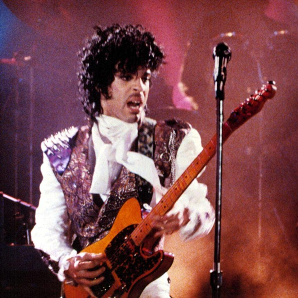 """<p>Dearly beloved, give us Prince and make it rain. The artist's <em>Purple Rain</em> album, the first compilation to feature his band, The Revolution, was also the soundtrack to the same-name 1984 film and solidified the late Prince as the musical genius we continue to celebrate today. Hits here include """"<a href=""""https://www.youtube.com/watch?v=aXJhDltzYVQ"""" rel=""""nofollow noopener"""" target=""""_blank"""" data-ylk=""""slk:Let's Go Crazy"""" class=""""link rapid-noclick-resp"""">Let's Go Crazy</a>,"""" """"<a href=""""https://www.youtube.com/watch?v=SVEFRQavTNI"""" rel=""""nofollow noopener"""" target=""""_blank"""" data-ylk=""""slk:I Would Die 4 U"""" class=""""link rapid-noclick-resp"""">I Would Die 4 U</a>,"""" """"<a href=""""https://www.youtube.com/watch?v=UG3VcCAlUgE"""" rel=""""nofollow noopener"""" target=""""_blank"""" data-ylk=""""slk:When Doves Cry"""" class=""""link rapid-noclick-resp"""">When Doves Cry</a>,"""" and, of course, the Princè de résistance, """"<a href=""""https://www.youtube.com/watch?v=t9X2R_YF4Qc"""" rel=""""nofollow noopener"""" target=""""_blank"""" data-ylk=""""slk:Purple Rain"""" class=""""link rapid-noclick-resp"""">Purple Rain</a>."""" An eight-minute opus, """"Purple Rain"""" is one of the """"<a href=""""https://www.bbc.co.uk/music/reviews/6qxm/"""" rel=""""nofollow noopener"""" target=""""_blank"""" data-ylk=""""slk:most affecting blues soul laments ever recorded"""" class=""""link rapid-noclick-resp"""">most affecting blues soul laments ever recorded</a>.""""</p><p><a class=""""link rapid-noclick-resp"""" href=""""https://www.amazon.com/Purple-Rain-Prince/dp/B0014C0BQQ?tag=syn-yahoo-20&ascsubtag=%5Bartid%7C10056.g.32872244%5Bsrc%7Cyahoo-us"""" rel=""""nofollow noopener"""" target=""""_blank"""" data-ylk=""""slk:Watch and Listen"""">Watch and Listen</a></p>"""