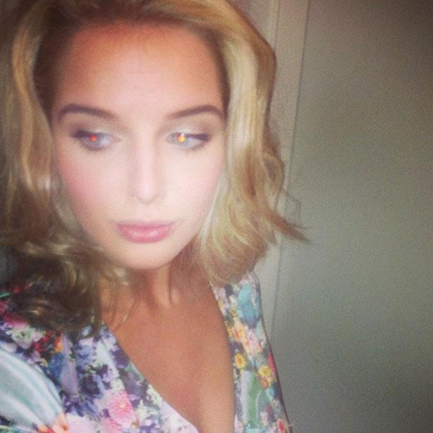 Celebrity Twitpics: Helen Flanagan is the queen of a good old Twitter pout – and she proved it this week with this snap. Copyright