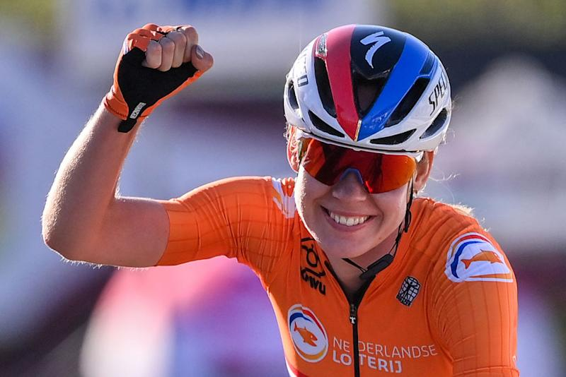 Anna van der Breggen (Netherlands) takes her second world title of the 2020 Championships