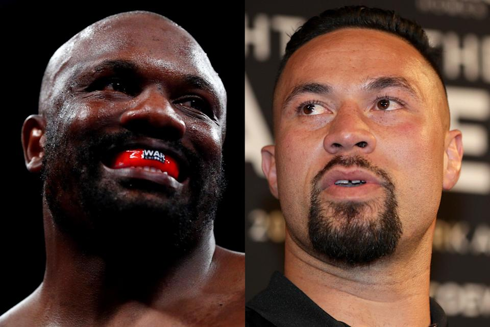 <p>Derek Chisora takes on Joseph Parker in Manchester on Saturday night</p> (Getty Images/Getty Images)
