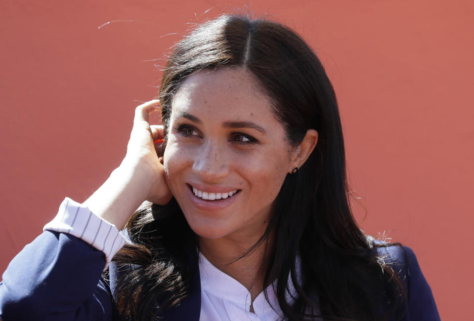 Meghan pictured in Morocco [Photo: Getty]