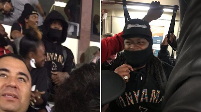 Marshawn Lynch Got Ejected, Watched the Game From the Stands and Took Public Transit Home