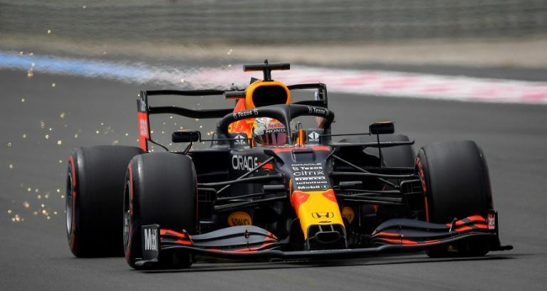 Max Verstappen leads reigning world champion Lewis Hamilton by four points in the drivers' standings