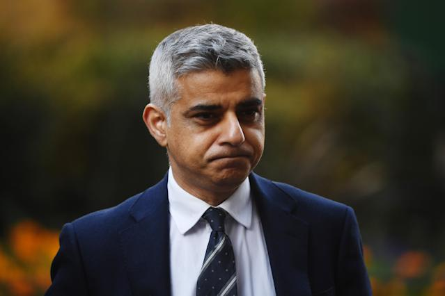 Sadiq Khan's office is working with Intercontinental Hotels Group to provide rooms for rough sleepers. (Picture: Peter Summers/Getty Images)