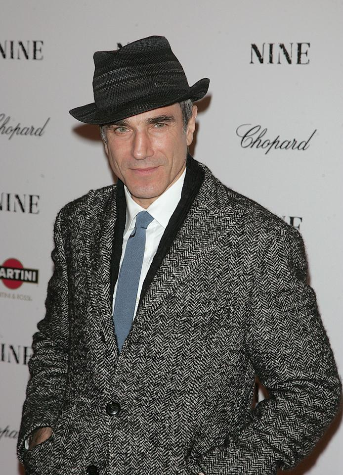 """<a href=""""http://movies.yahoo.com/movie/contributor/1800025261"""">Daniel Day-Lewis</a> at the New York City screening of <a href=""""http://movies.yahoo.com/movie/1810053986/info"""">Nine</a> - 12/15/2009"""