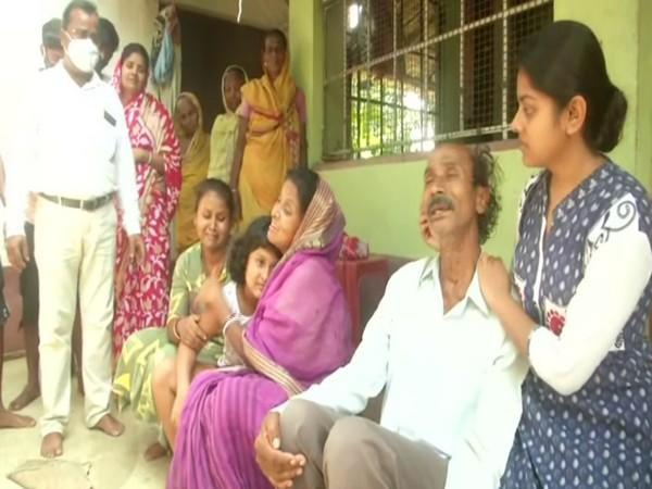 Family of the deceased couple in Balipur village (Photo/ANI)