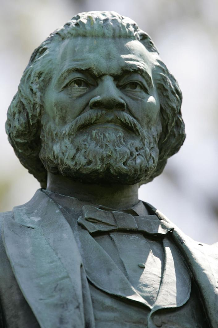 Including the vandalized statue, which will be replaced, there are 13 statues of Douglass in Rochester. (Photo: ASSOCIATED PRESS)