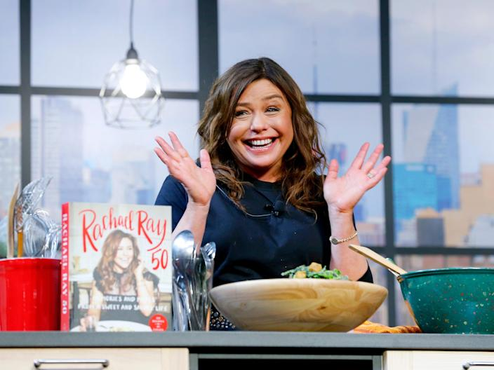 rachael ray and cookbook