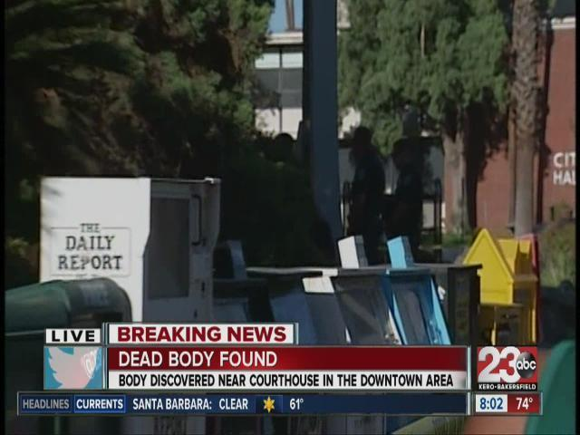 Dead body found outside Bakersfield Superior court [Video]