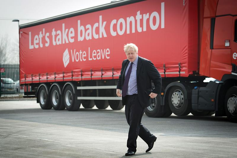 Boris Johnson on the Vote Leave campaign trail (PA Archive/PA Images)