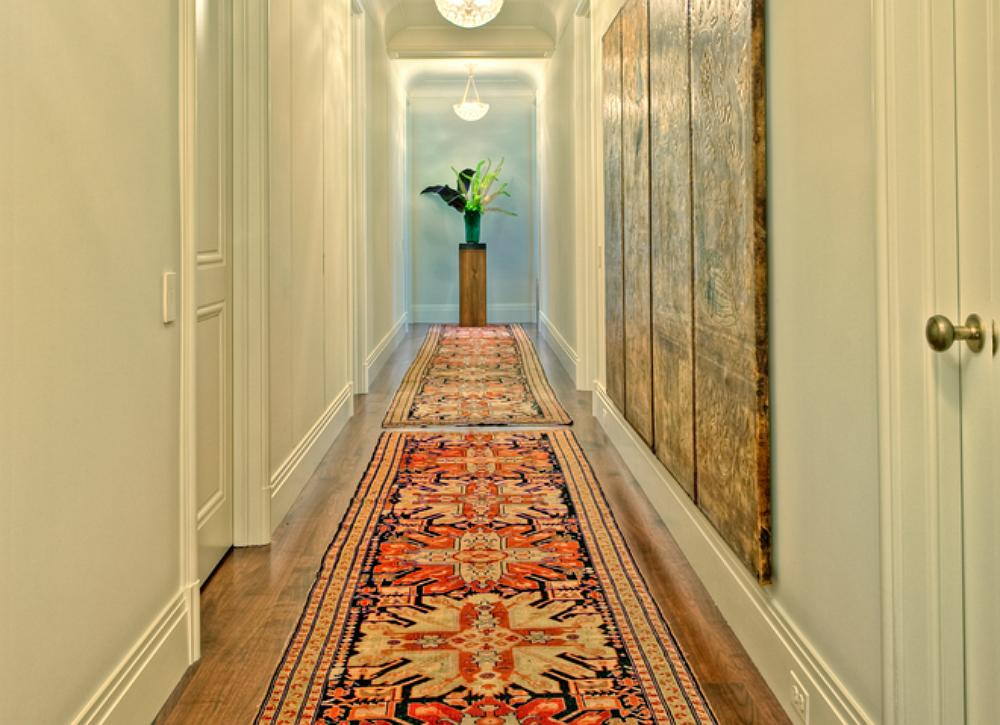 """<body><p>Don't be quick to rule out a rug in the entryway because of the amount of traffic the space gets. The right runner will add warmth to your space and <a rel=""""nofollow"""" href="""" http://www.bobvila.com/tv-remote/46938-10-ways-to-welcome-a-house-guest/slideshows#.VKHFR8AA0?bv=yahoo"""" title=""""http://www.bobvila.com/tv-remote/46938-10-ways-to-welcome-a-house-guest/slideshows#.VKHFR8AA0"""">welcome guests to your home</a>. Choose the material accordingly; and if you're still concerned it might require more than a regular cleaning, get creative and station a shoe rack to signal to guests that there's a no-shoe policy indoors.</p></body>"""