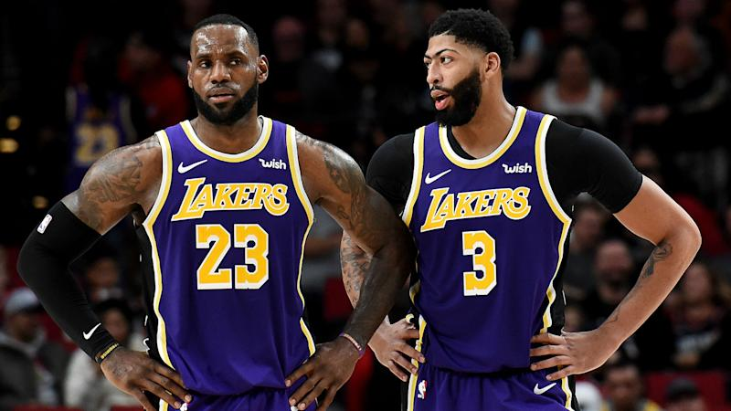 I might sneeze on him – LeBron wants to keep in-form Davis under the weather