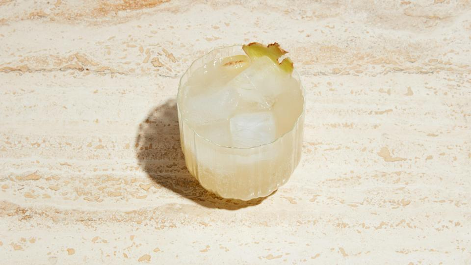 "This light, refreshing drink recipe will be your new favorite to serve at brunch or picnics. <a href=""https://www.bonappetit.com/recipe/ginger-spritz?mbid=synd_yahoo_rss"" rel=""nofollow noopener"" target=""_blank"" data-ylk=""slk:See recipe."" class=""link rapid-noclick-resp"">See recipe.</a>"