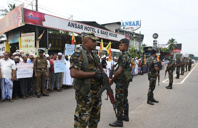 Sri Lankan security forces have arrested scores of suspects in connection with the bombings and over what appeared to be organised violence against the island's Muslim minority