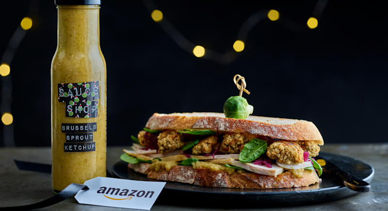 You can even put the ketchup in your post-Christmas day sandwich. [Photo: Amazon]