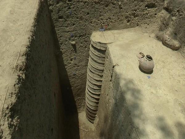 The sixth phase of excavations ended Wednesday. (Photo/ANI)