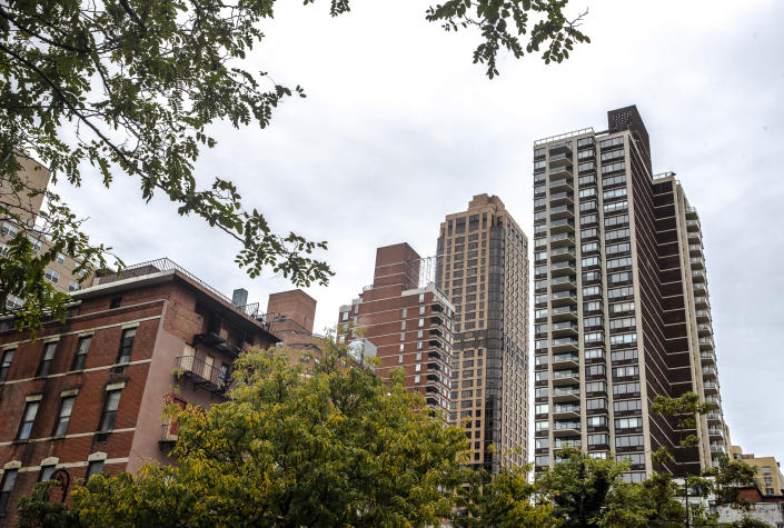 Buildings in the Yorkville neighborhood on the Upper East Side of Manhattan on Tuesday, Oct. 8, 2019. (Brittainy Newman/The New York Times)