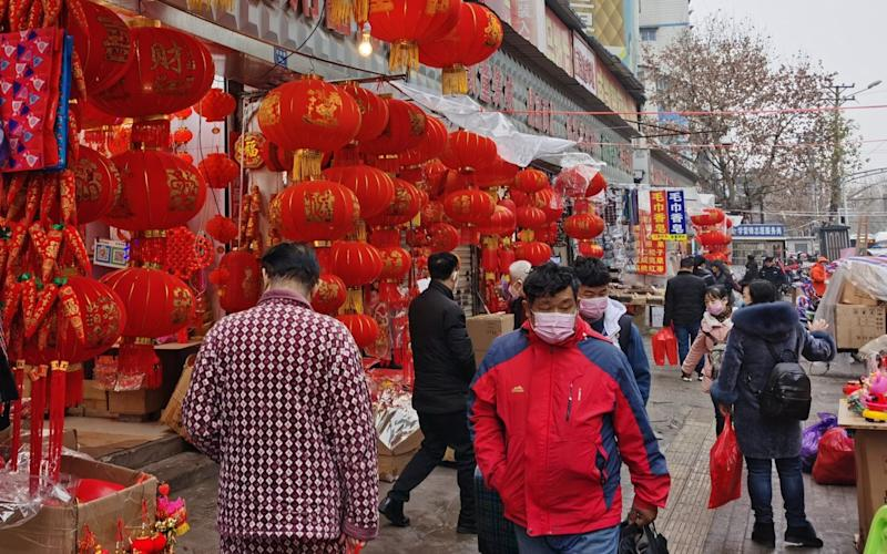 Wuhan, China, where the coronavirus outbreak originated - Getty Images AsiaPac