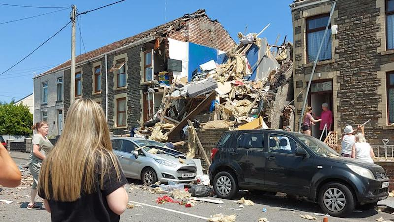 House explosion 'likely caused by old gas equipment', police say