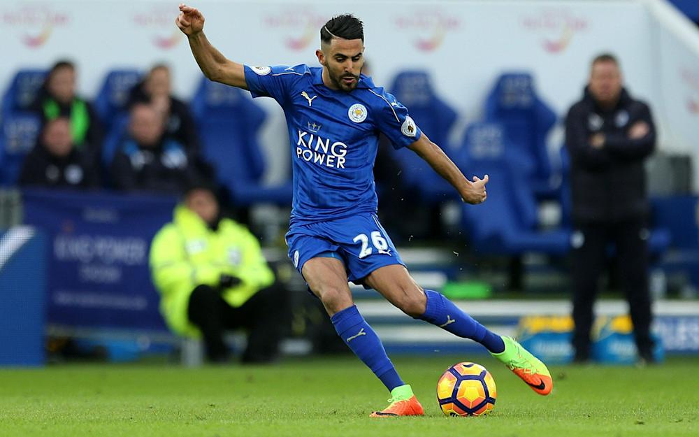 Mahrez -Riyad Mahrez a summer target for Barcelona but Leicester City will demand in excess of £40 million - Credit: PA