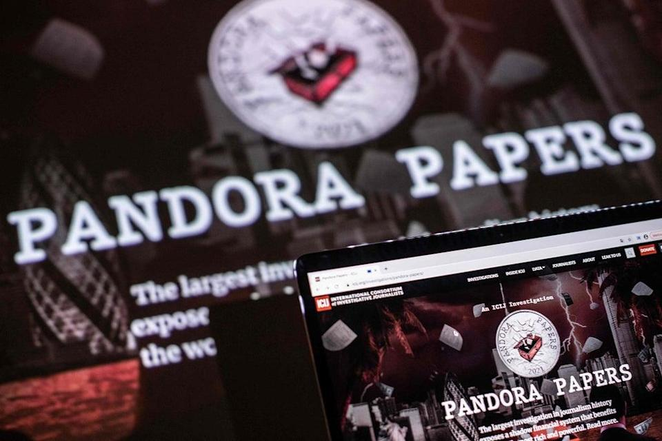 The Pandora Papers expose systems of hiding wealth and lavish purchases  (AFP via Getty Images)
