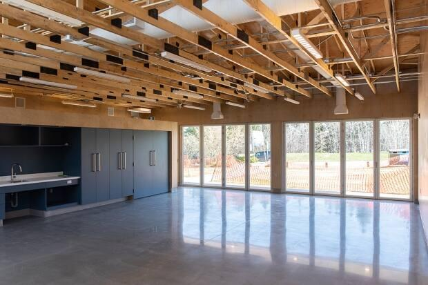 The new classroom building at the Glenmore Sailing School in Calgary has been completed and will open in June.