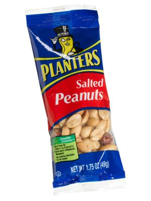 """<div class=""""caption-credit""""> Photo by: courtesy of soap.com</div><div class=""""caption-title""""></div><b>THE WINNERS <br> <br> Planters peanuts (2 oz) <br> The Good:</b> Decent source of protein, iron, and fiber; these might be the most filling option in the machine <br> <b>The Bad:</b> Lots of sodium and 45 percent of your daily fat allowance (though it's mostly the healthy kind). <br> <b>The Bottom Line:</b> They'll sate your appetite without putting you in a carb coma."""