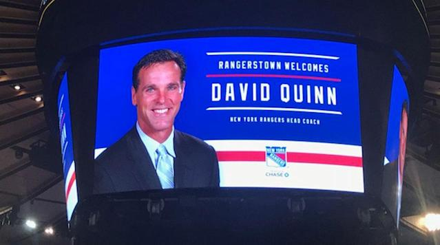 The most recent NCAA coach to make the leap to the NHL, Dave Quinn brings a unique experience behind the Rangers' bench at a critical time.