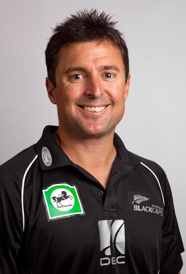 WELLINGTON, NEW ZEALAND - JANUARY 20:  Assistant coach of the Blackcaps Trent Woodhill poses during a New Zealand media session at the Intercontinental Hotel on January 20, 2011 in Wellington, New Zealand.  (Photo by Marty Melville/Getty Images)
