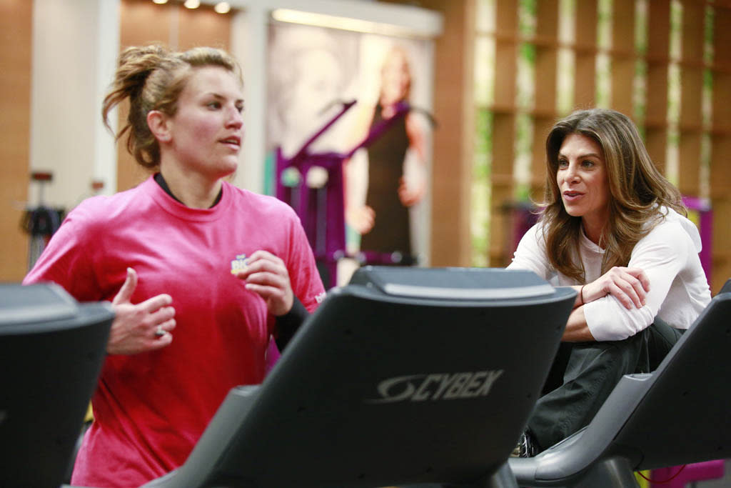 """Down To The Wire"" Episode 1411 -- Pictured: (l-r) Dannielle ""Danni"" Allen, Jillian Michaels"
