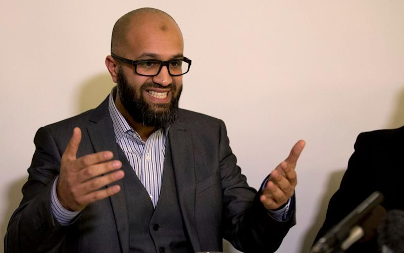 Asim Qureshi, Cage's research director, has edited a book to be published by Manchester University Press - Matt Dunham/AP