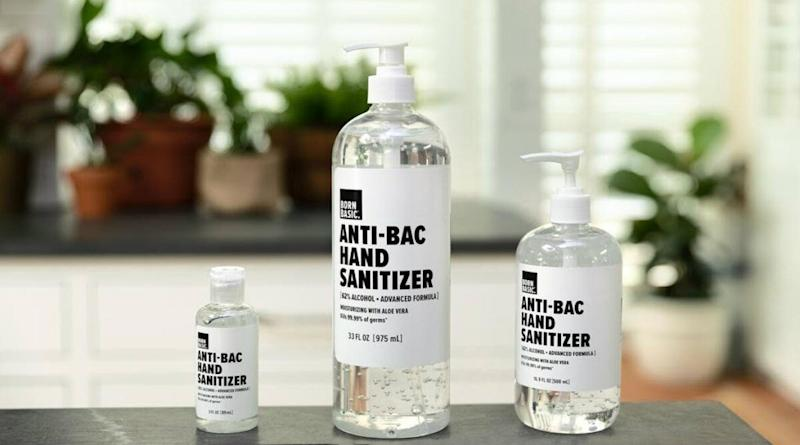 Born Basic Hand Sanitizer: Better Than Ever — Convenient, No Gimmicks & Safe to Use