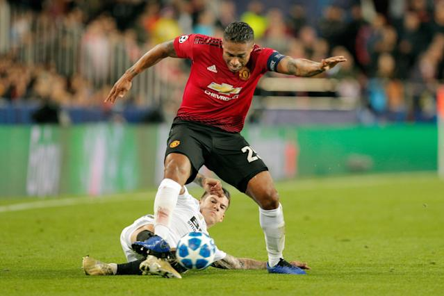 Antonio Valencia has barely featured for United after falling out with Jose Mourinho over an Instagram like