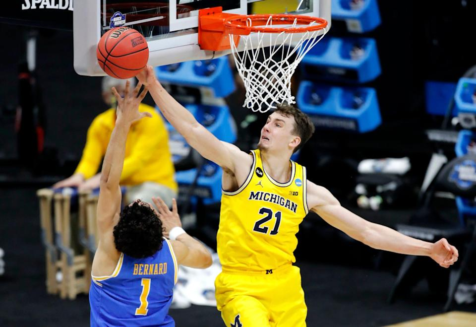 Franz Wagner is considered one of the best defenders in this draft class. His 1.2 blocks and 1.5 steals in conference play both ranked him sixth in the Big Ten.