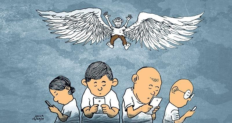 Editorial: 'A very old man with enormous wings'