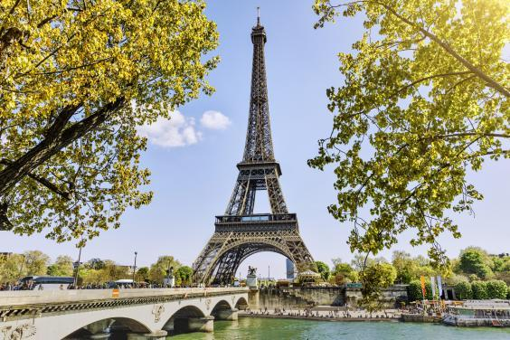 The Eiffel Tower in Paris, France (istock)
